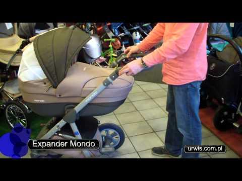 Wózek EXPANDER MONDO - prezentacja URWIS.COM.PL