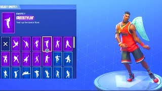 (NEW) JUMPSHOT AKA LEBRON JAMES SKIN! WITH 20+ DANCE EMOTES!