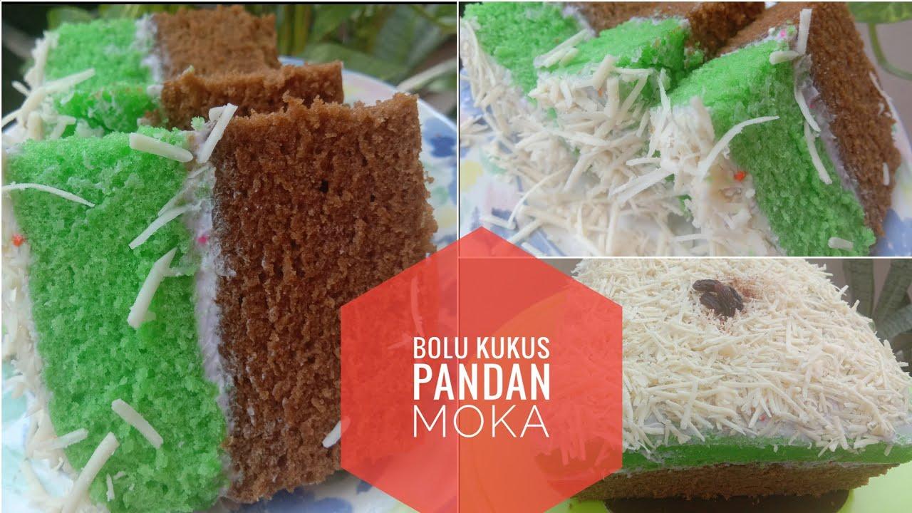 Resep Dan Cara Membuat Kue Bolu Kukus Pandan Mocca Lembut Basecake Kue Ulang Tahun Youtube