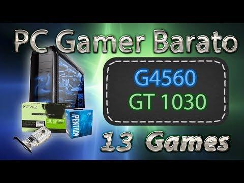 PC Gamer Barato (Pentium G4560 + GT 1030 2GB) 13 Games Full HD 1080p Benchmarks