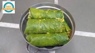 tasty Gujarati Patra recipes in Hindi / Surat street food / st…