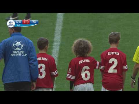 Austria vs Canada - Ranking match 17/18 - Full Match - Danone Nations Cup 2016