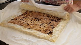 Making Apple Strudel (apfel Strudel)