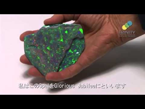 World's largest Black Opal - Japanese Subtitle