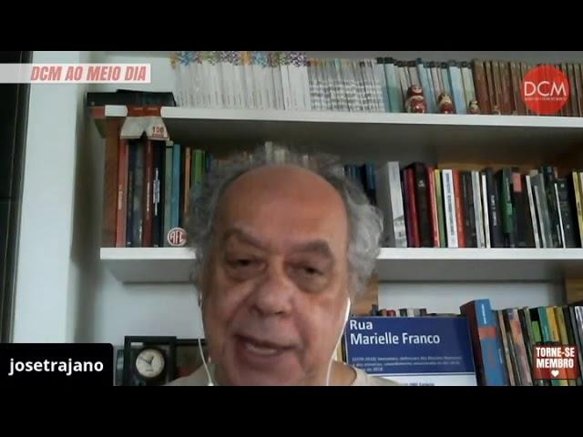 """José Trajano e Vinícius Segalla indicam """"Aloysio Biondi"""" no programa DCM ao Meio Dia."""
