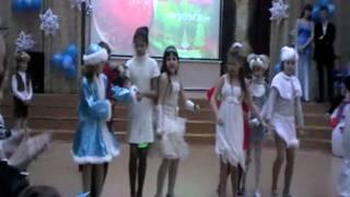 Новогодний танец от средней группы