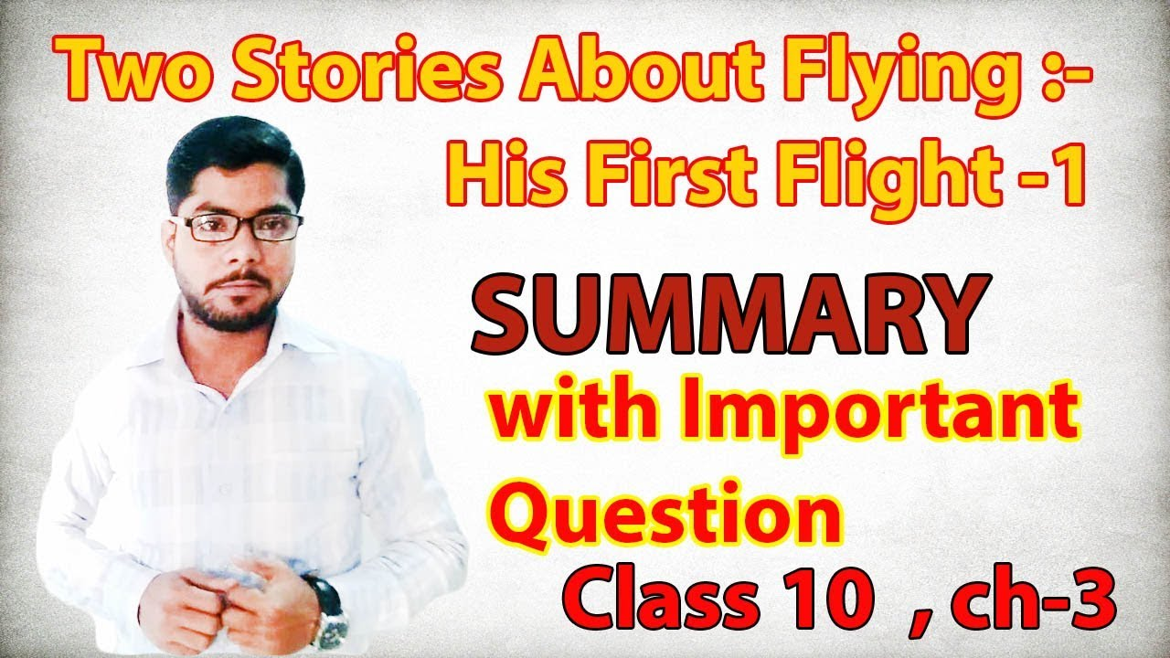 two stories about flying summary