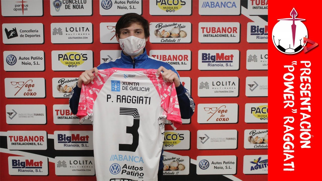 """Presentación de """"Power"""" Raggiati como nuevo jugador del Noia PA FS"""