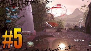 5 KD Challenge Ep. 5 - SUPER CLOSE UPLINK GAME! (Advanced Warfare Playstation 4 Gameplay)
