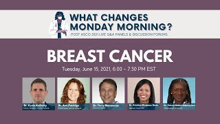 What Changes Monday Morning? | Post ASCO21 Breast Cancer Panel