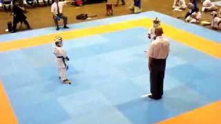 第10回全国少年少女空手道選手権大会1年生組手男子 3回戦