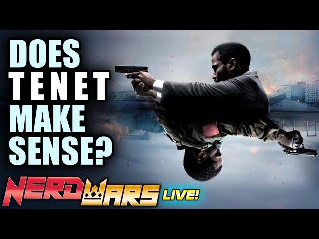 Does Tenet Make Sense? Is Christopher Nolan Overrated? Tenet SPOILERS Explained - Nerd Wars LIVE!