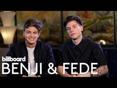 Benji & Fede, Italian duo Interview | Billboard Latin Music 2016