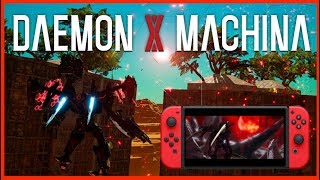 DAEMON X MACHINA sur SWITCH | LES MECHA au creux des Mains !!