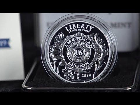 2019 American Legion Commemorative Coins