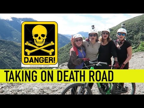 Death Road Bolivia - On a bike!!!