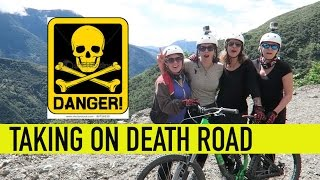 Death Road Bolivia - On a bike!!!