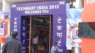 Techmart : Hall 14 : Pavilion : IITF 2013 : Pragati Maidan Trade Fair : New Delhi