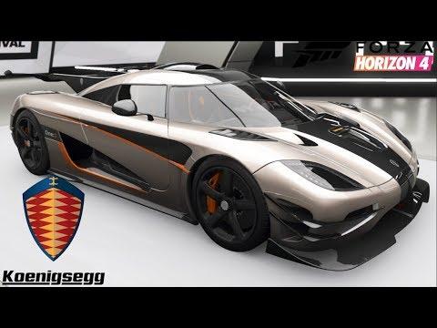 Forza Horizon 4 - Koenigsegg ONE:1 - Customization, Top Speed, Review