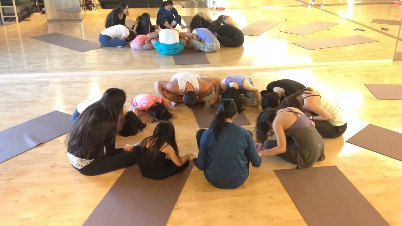 Group Yoga Make More Fun By Doing It With Your Friends And Family