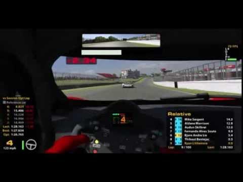 iRacing:- Grand AM Series R2 Race @ Brands Hatch (Livestream)