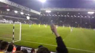 Andy Carrolls second goal 2-4 away to west brom