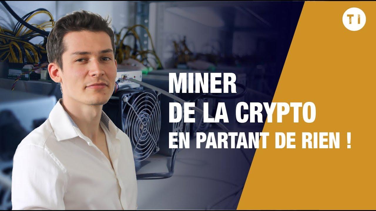 Comment miner de la crypto monnaie ? (rapidement et en partant de rien ?)