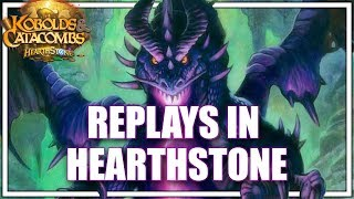 Replays in Hearthstone - How to use and analyze your replays in Hearthstone