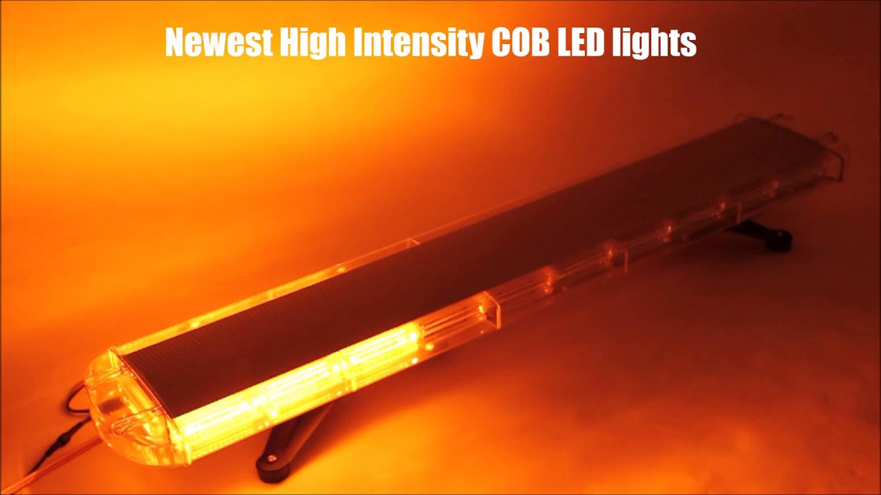 Xprite 88 Super Bright COB LED Emergency Rooftop Strobe Light Bar ...