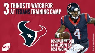 What to watch for at the Texans training camp | PFF