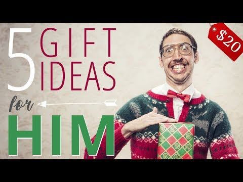 7 Best XMAS GIFT IDEAS FOR HIM under $20