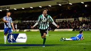 Hartlepool Utd 1-2 Blyth Spartans - FA Cup Second Round | Goals \u0026 Highlights