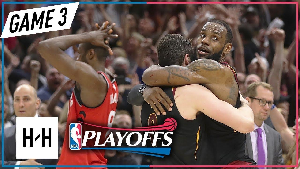 9915ff27bd79 Toronto Raptors vs Cleveland Cavaliers - Game 3 - Highlights