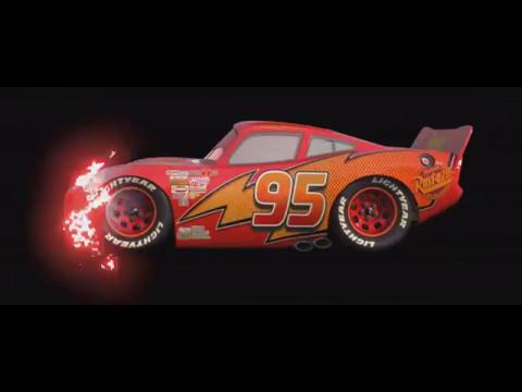 DISNEY CARS RED DINOCO LIGHTNING MCQUEEN (8K/4K/HD/HQ)