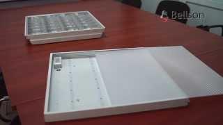 LED светильник Армстронг TM Bellson - замена офисного люминесцентного.(, 2013-07-04T11:35:42.000Z)