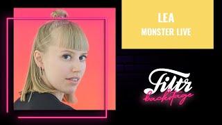 LEA - Monster (Live @ Die Filtr Show)
