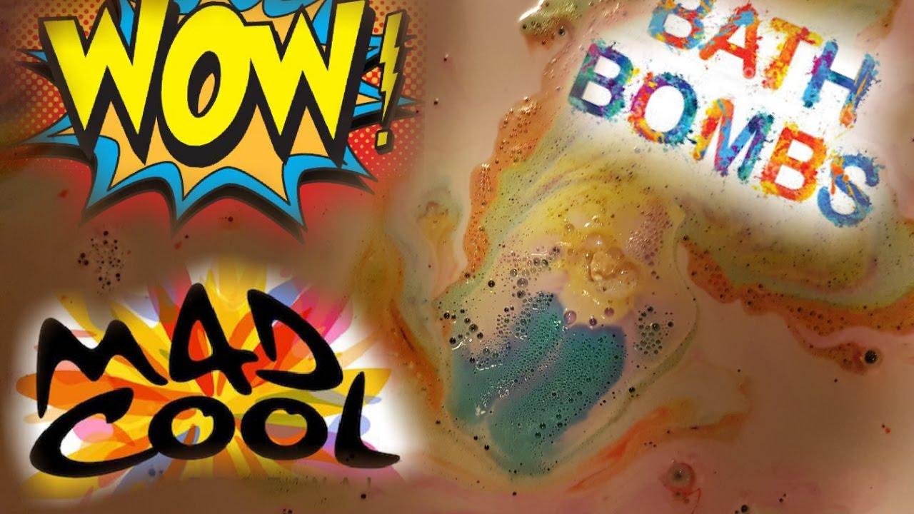 KIDS FUN | COOL COLOURFUL BATH BOMBS | AMAZING RAINBOW COLOURS - YouTube
