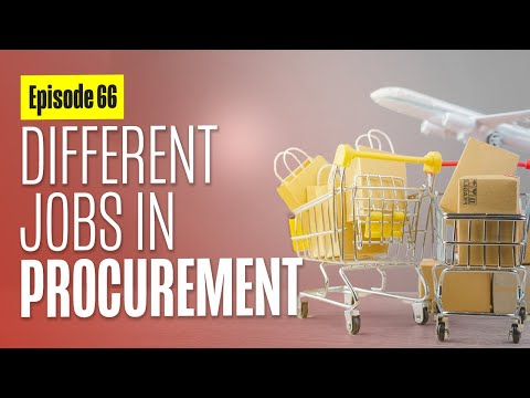 What are the Different Jobs in Procurement? - with Trent Morris