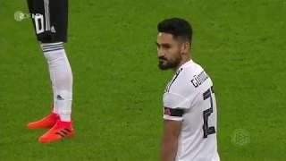 England vs Deutschland Länderspiel 10.11.17