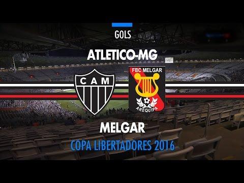 Gols - Atlético-MG 4 x 0 Melgar-PER - Libertadores - 14-04/2016