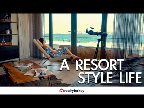 Luxury Real Estate Tour in Istanbul Turkey: Marina 24
