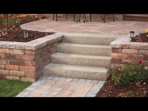 Retaining Wall Steps Anchor Wall S Landings Step Unit