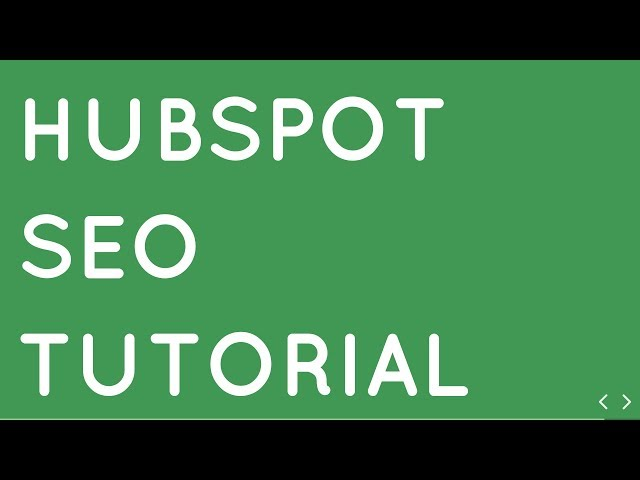 HUBSPOT SEO Tutorial | How to Rank Your Website in Google Fast in 2019