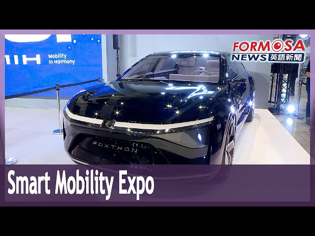2035 E-Mobility Taiwan expo opens with latest in electric vehicles