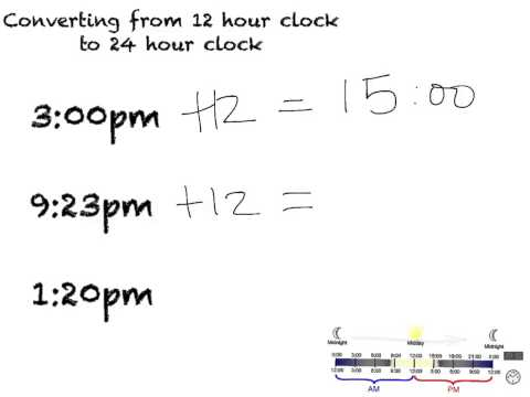 12-24 Hour Clock