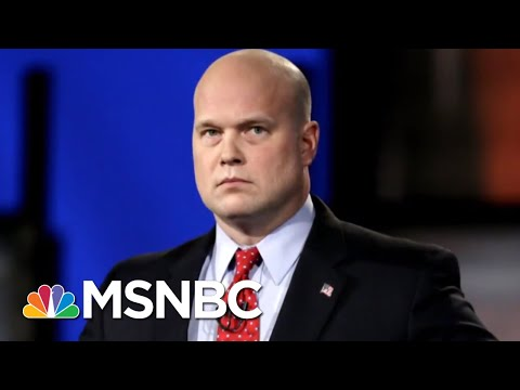 Fmr. Russia Probe Boss: Whitaker Could Trigger 'Ethics Civil War' | The Beat With Ari Melber | MSNBC