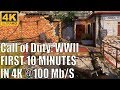 [4K Ultra] Call of Duty WWII | 10 Minutes of 4K Direct Feed Multiplayer Direct Feed Gameplay Capture