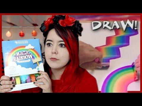 Professional Artist Tries 90s Rainbow Art Sponge Toy thumbnail