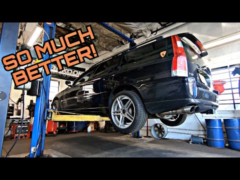Starting The Volvo V70R Restoration With The Quickest Upgrade Ever
