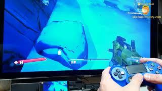 KT 5G 스트리밍 게임 보더랜드2 듀얼쇼크로 플레이